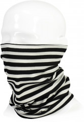 Mons Royale Double Up Neckwarmer - thick stripe
