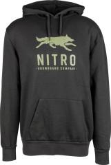 Nitro Lobos Hoodie - čierna