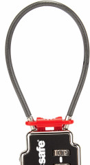 PacSafe TSA Accepted 3-Dial Double Cable Lock