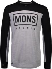 Mons Royale Redwood Enduro VLS - black / grey marl