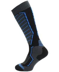 Blizzard Profi Ski Socks - čierna / modrá / šedá