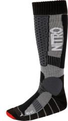 Nitro Team Socks - black-grey-red