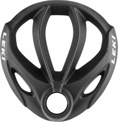Leki Contour Basket 75mm - čierna