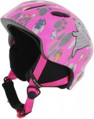 Blizzard Magnum Ski Helmet Junior - ružová