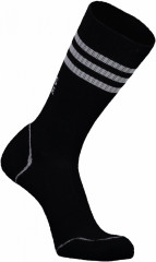 Mons Royale Signature Crew Sock - black / grey
