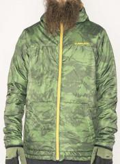 Armada Gremlin Jacket - forest green marble