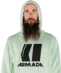 Armada Icon Hoodie - zelená
