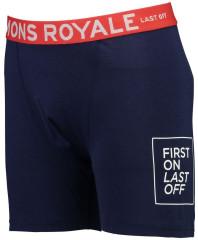 Mons Royale Hold 'em Boxer - navy