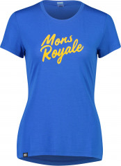 Mons Royale Icon Tee - rebel blue