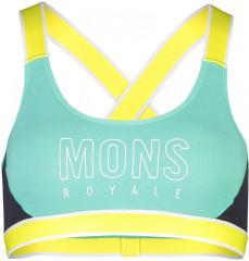 Mons Royale Stella X-Back Bra - mint edge