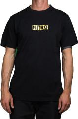 Nitro Stack Tee - black