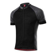 Löffler Pánsky cyklistický dres Urban Merino čierna