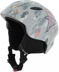 Blizzard Magnum Ski Helmet Junior - šedá mix