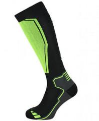 Blizzard Compress 85 Ski Socks - čierna / žltá