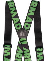 Armada Stage Suspenders - čierna / zelená