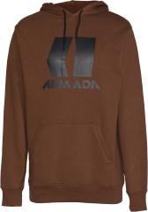 Armada Icon Hoodie - mahogany
