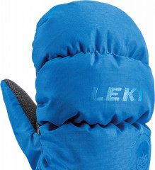 Leki Little Eskimo Mitt Short - modrá