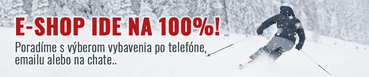 e-shop jede na 100%