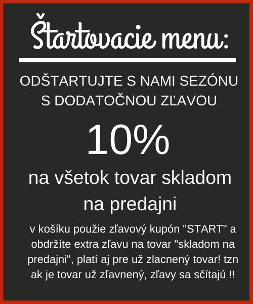 Štartovacie menu - 10%
