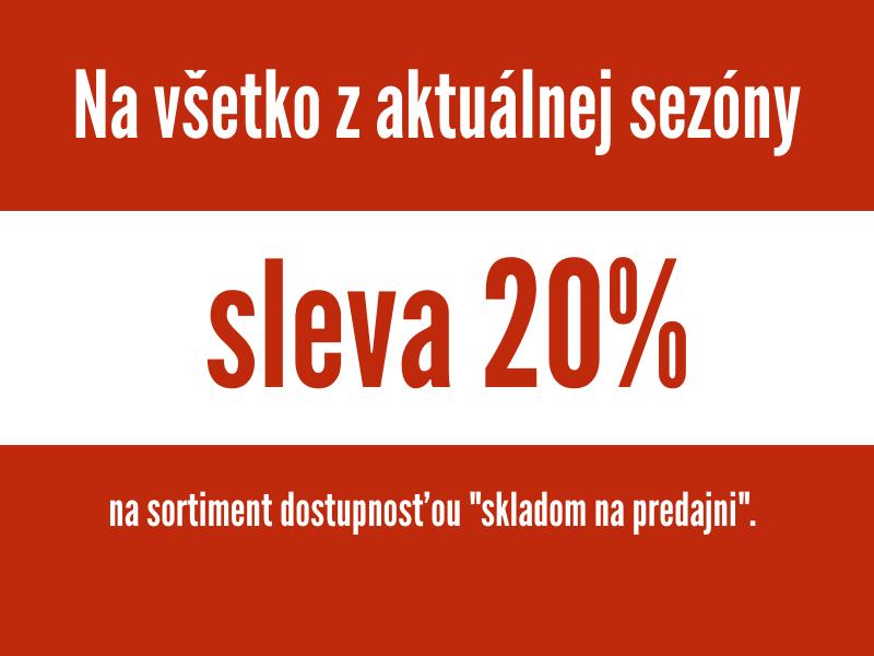 20% na vše skladem - F